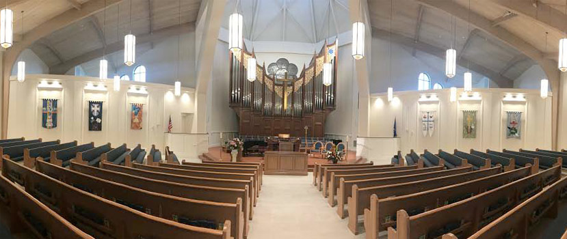 Interior Photo of Vanderbilt Presbyterian Church Naples Florida